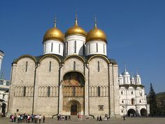 The Assumption Cathedral was the site of coronation of Russian tsars.
