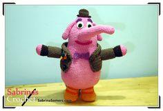 Sabrina's Crochet - Free crochet pattern Bing Bong (Inside Out)