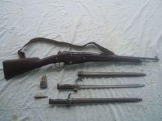 Le fusil du soldat de l'artillerie française en 14/18