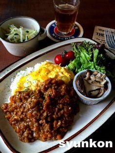 よ~いドン!の裏話と、【簡単!!レンジで】とろとろ卵のキーマカレー | 山本ゆりオフィシャルブログ「含み笑いのカフェごはん『syunkon』」Powered by Ameba