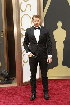 Kellan Lutz Oscars 2014