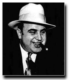 Al Capone. In order to be the top mobster you gotta commit alot of crime. Crime al Capone commited varried from murders and selling illegal things.