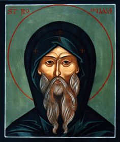 """St. Romuald - """"Empty yourself completely and sit waiting, content with the grace of God, like the chick who tastes nothing and eats nothing but what his mother gives him."""""""