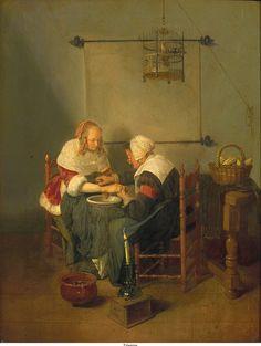 7 июля.   Quiringh Gerritsz. Brekelenkam ca. 1660