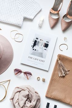 THE LIFE EDIT — The Ultimate Guide to Editing the Clutter Out of Your Closet and Creating a Wardrobe You Love