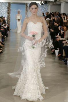 1323dcc2e92 Bridal Fashion Week  Oscar de la Renta Spring 2014 - FLARE  Morgan Rafferty  Western