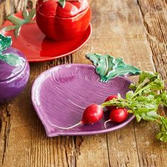 Jacques Pépin Collection Figural Beet Plate, available at #surlatable