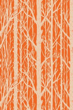 Trees Pattern Wall Tiles