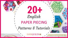 Learn how to English Paper Piece! Jellyroll Quilts, Paper Piecing Patterns, English Paper Piecing, Quilt Tutorials, Animal Design, Quilt Blocks, Sewing Projects, Quilting, Learning