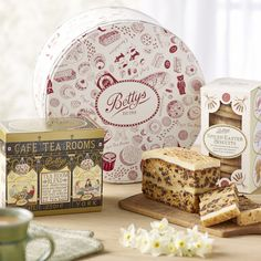 Spring Teatime Gift Tin | £25.00 | Easter teatime delights, presented in a keepsake Bettys cake tin.