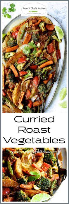 Curried Roast Vegetables