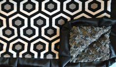 Honeycomb Slate-Charcoal-Black
