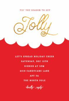 Free Christmas Invitation Templates Happy Holidays  Printable Christmas Invitation Template  Work .