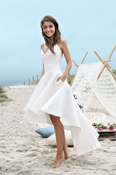Beautiful 56 Prettiest Short Wedding Dresses Collections
