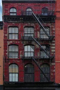 Fire escape New York City #NYC ®www.image-gratuite.com