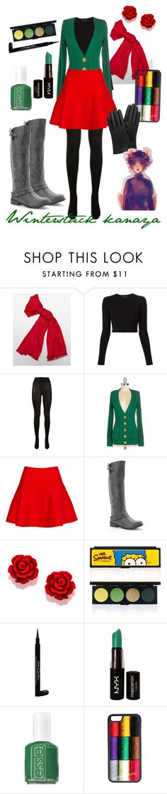 """""""Winterstuck kanaya"""" by candy-thief ❤ liked on Polyvore featuring Calvin Klein, Proenza Schouler, Yves Saint Laurent, Pull&Bear, Madden Girl, MAC Cosmetics, Givenchy, NYX, Essie and CellPowerCases"""