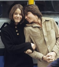 Susan Dey and David Cassidy