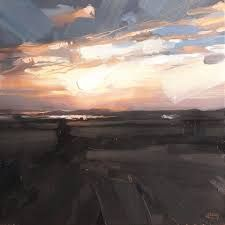 hester berry, westward ho, sky and twilight