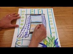 Matisse Windows Drawing Art Project - YouTube