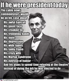 """abraham lincoln a true leader Abraham lincoln was the first  it is through this post kansas-nebraska act """"lens"""" that we can get a true sense of lincoln's  the kkk leader and."""