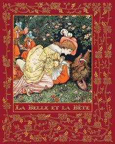 La Belle et la Bete by Jeanne-Marie Leprince De Beaumont,  Walter Crane |, Hardcover | Barnes & Noble®