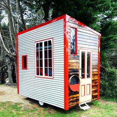 Lil Red Tiny House: Video Tour with Tiny Houses Australia