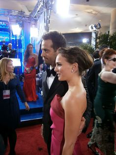 Natalie Portman Coolhunted by Diana Lado at Golden Globes 2012