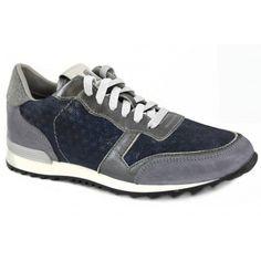 20451 Sneaker blauw multi