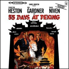 """""""55 Days In Peking"""" (1963, Columbia).  Music from the movie soundtrack."""
