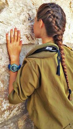 IDF in Jerusalem. Pray for peace in Jerusalem & Israel. - Niemandy - - IDF in Jerusalem. Pray for peace in Jerusalem & Israel. Jerusalem Israel, Palestine, Israeli Girls, Idf Women, Female Soldier, Army Soldier, Military Women, Military Army, Israel Travel