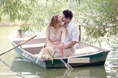 Романтичные моменты прогулок на лодке | Свадьба и все о ней