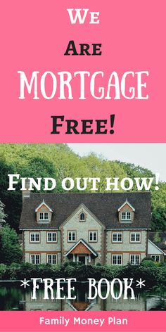 Mortgage freedom? Sound like it's too far away. Not always... there are many things you can do to become mortgage free quicker than 30 years via @familymoneyplan