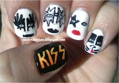 Kiss - haha! should do this with Slipknot
