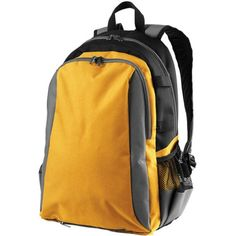 Hgh Five All Sport Backpack. Includes large main compartment plus deep front zipper pocket. Laptop Backpack, Black Backpack, Sling Backpack, Gold Backpacks, Backpacks For Sale, Volleyball Gear, High Five, Deep, Duffel Bag