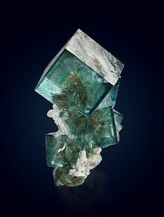 Fluorite with Quartz,Okorusu Mine, Otjiwarongo District, Namibia