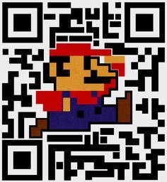 Super Mario QR Code