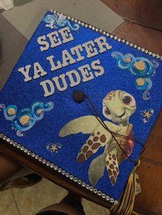 Rn Graduation Pictures, Disney Graduation Cap, Funny Graduation Caps, Graduation Cap Toppers, Graduation Cap Designs, Graduation Cap Decoration, Graduation Diy, High School Graduation Picture Ideas, Funny Grad Cap Ideas