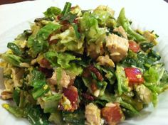 Cobb Salad - The recipe for the original created at the famous Brown Derby Restaurant
