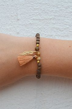 Charming Feather Bracelet