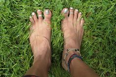 standing in the garden (barefoot) by olive witch, via Flickr