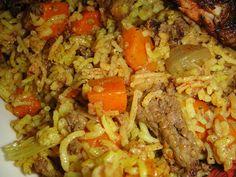 Maryam's Culinary Wonders: 234. Iraqi Carrot Rice