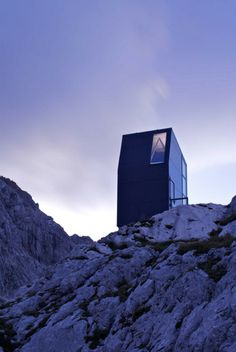Bivouac shelter by Miha Kajzelj | #Minimal #Architecture