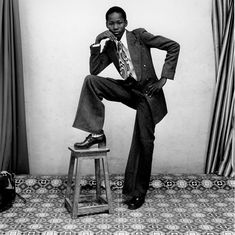 Malick Sidibé photographed the style and modernity among youth in post-colonial Mali after independence from France in 1960. More at link.