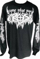 Come What May Long Sleeve Christian T-Shirt in Black by CROSS