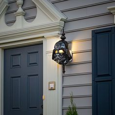 This menacing porch light cover — $4.99 | 21 Legit Cool Things Star Wars Fans Will Actually Want In Their Homes