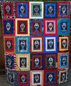 Hockey Quilt Deb Gervais Creations Pinterest Hockey