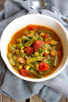 When you need an easy, light lunch, this Instant Pot Vegetable Soup works perfectly! Stovetop instructions also included. 102 calories and 1 Weight Watchers Freestyle SP