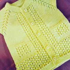 Knitting For Kids, Baby Knitting Patterns, My Design, Wool, Sweaters, Fashion, Outfits, Clothes For Girls, Baby Sweaters