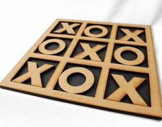 "The Tic Tac Toe Wooden Game is a lasercut game from MDF.Turn ""noughts & crosses"" into ""hugs & kisses"" this Valentine's Day with our Tic Tac Toe Wooden Game! Valentine Day Gifts, Valentines, Tic Tac Toe Game, Played Yourself, Online Gifts, Free Games, Games To Play, Woodworking Projects, Roman Empire"