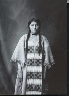 """from: Winona Weber: """"My grandmother Nettie Wirth. She was in the Indian Village at the 1904 St Louis World's Fair"""" Winona adds, """"She was als..."""